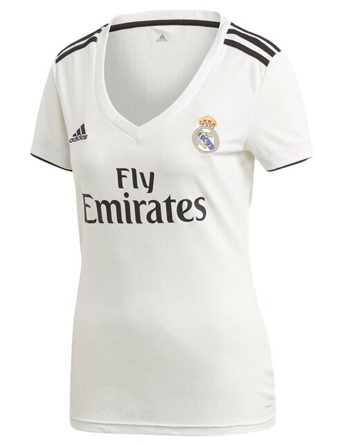 Jersey Adidas Réplica Club Real Madrid Local para dama e41c3b084986a