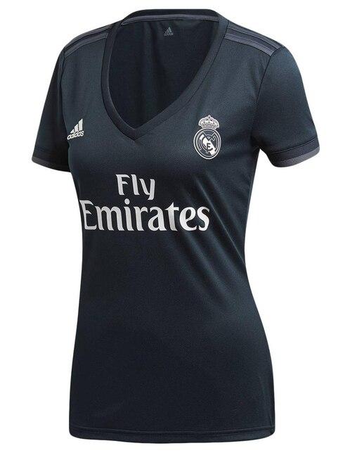 Jersey Adidas Réplica Club Real Madrid Visitante para dama ec7b3b512def8