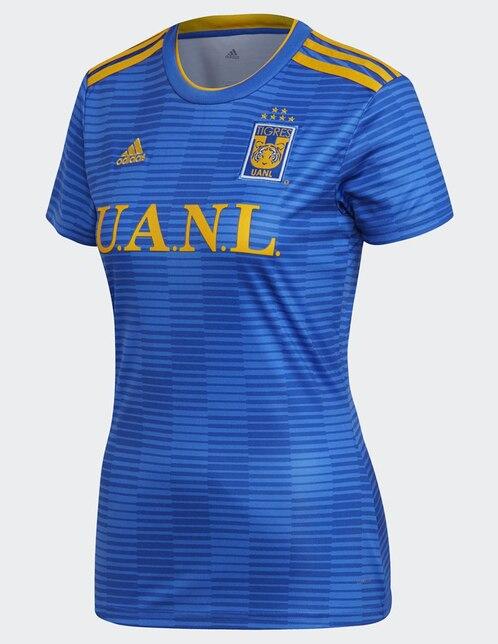 07fef6e75161b Jersey Adidas Jugador Tigres de la UANL Visitante para dama