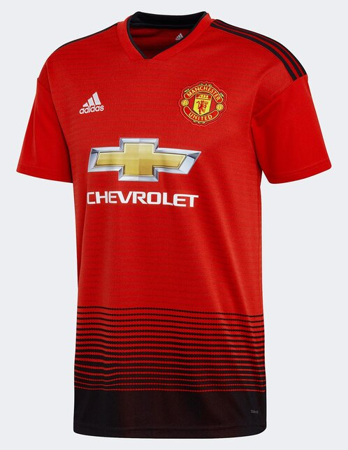 Jersey Adidas Réplica Manchester United FC Local para caballero cdfc4b4ab6c30