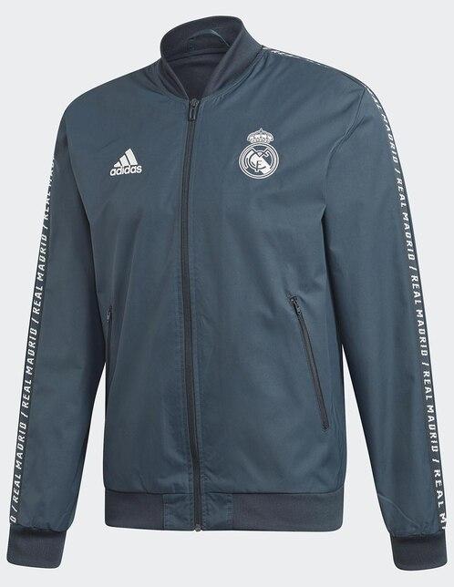 ff5fb0d07d813 Chamarra Adidas Club Real Madrid fútbol para caballero