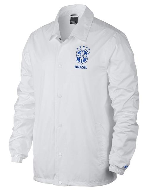 Chamarra Nike Selección de Brasil fútbol para caballero 7b5ec37c5106c