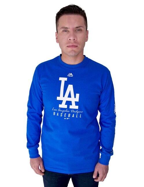 dd45658d6 Playera Majestic Los Angeles Dodgers béisbol para caballero