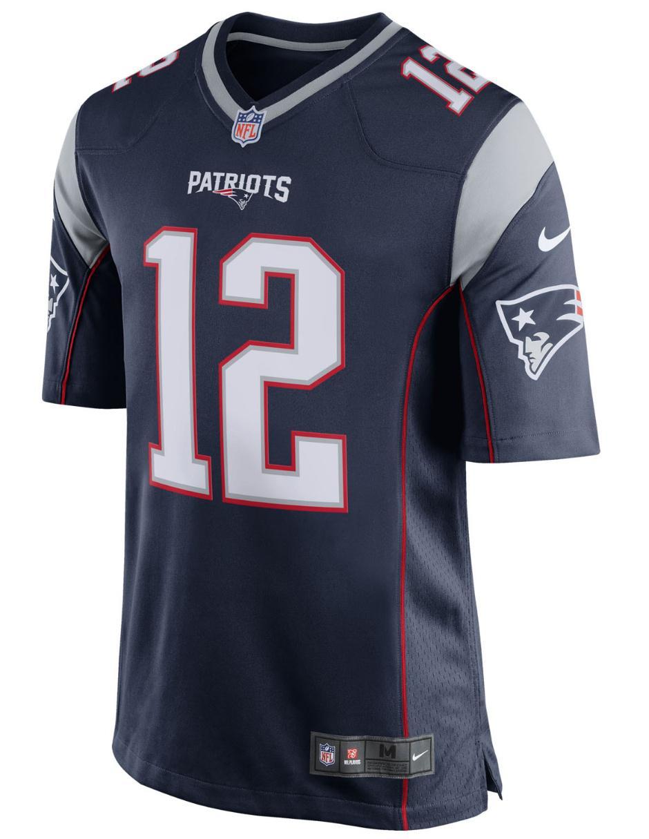 964683920 Jersey Nike NFL New England Patriots Tom Brady para caballero