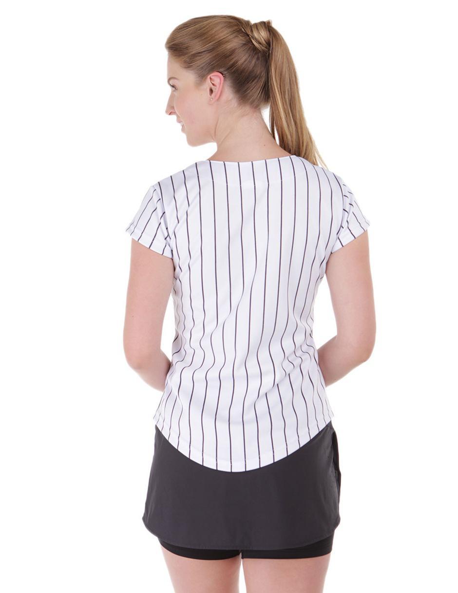 fb85dfd5f5a7 Jersey Majestic New York Yankees Aficionado Local para dama