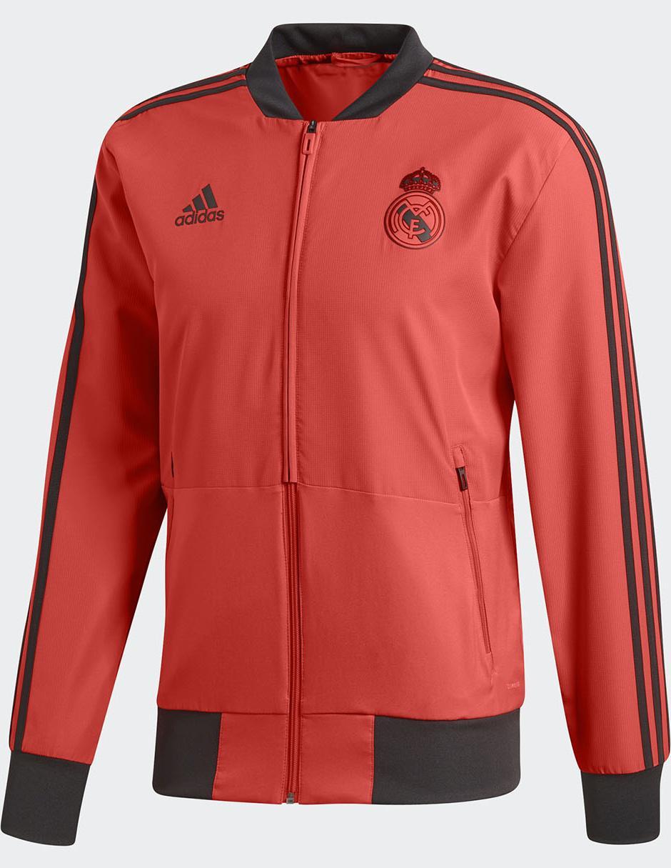 4a0ae8dc01a6b Chamarra Adidas Club Real Madrid poliéster fútbol para caballero