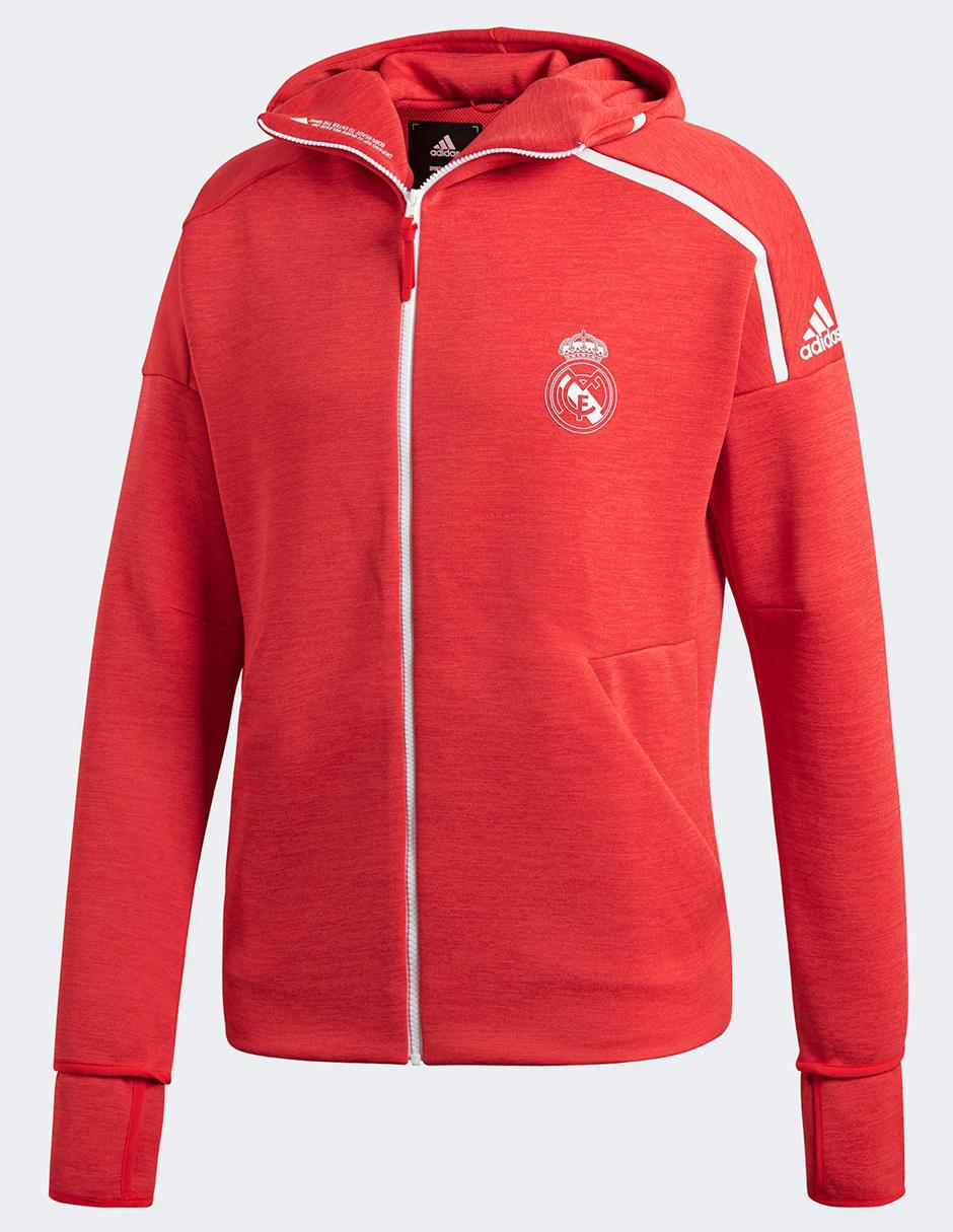 5b35c17b9df15 Chamarra Adidas Club Real Madrid poliéster para caballero