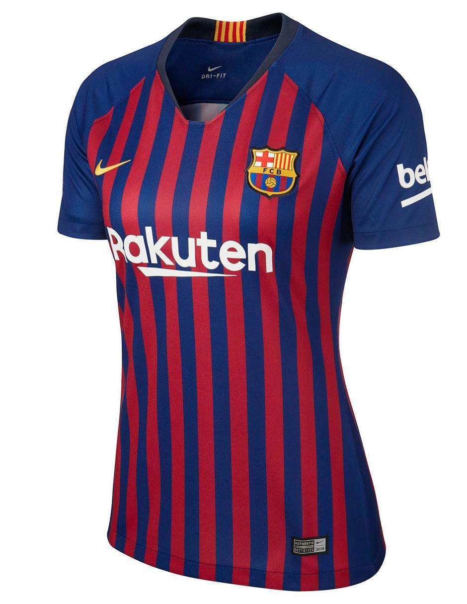 Jersey Nike Réplica FC Barcelona Local para dama Precio Lista ca41e558fa1
