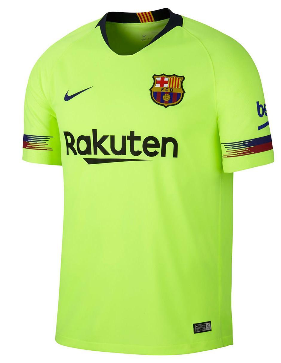 Jersey Nike Réplica FC Barcelona Visitante para caballero b8812741dca