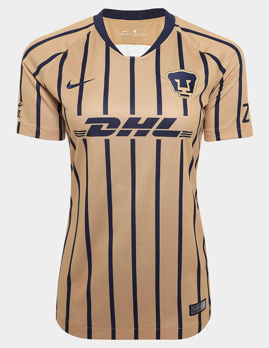 cf46087b Jersey Nike Réplica Pumas de la UNAM Visitante para dama Precio ...