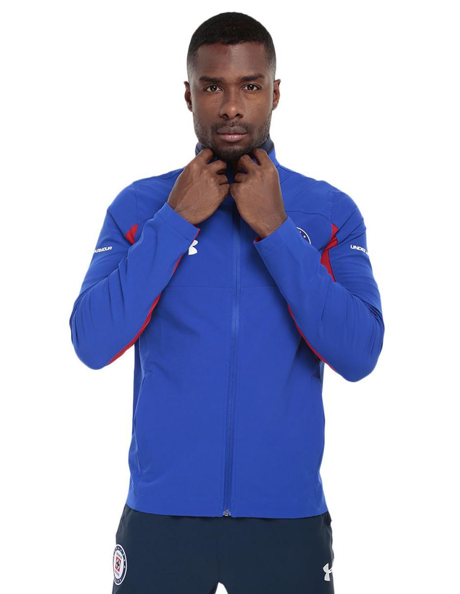 Chamarra Under Armour Cruz Azul FC poliéster fútbol para caballero ddcd941d21ab4