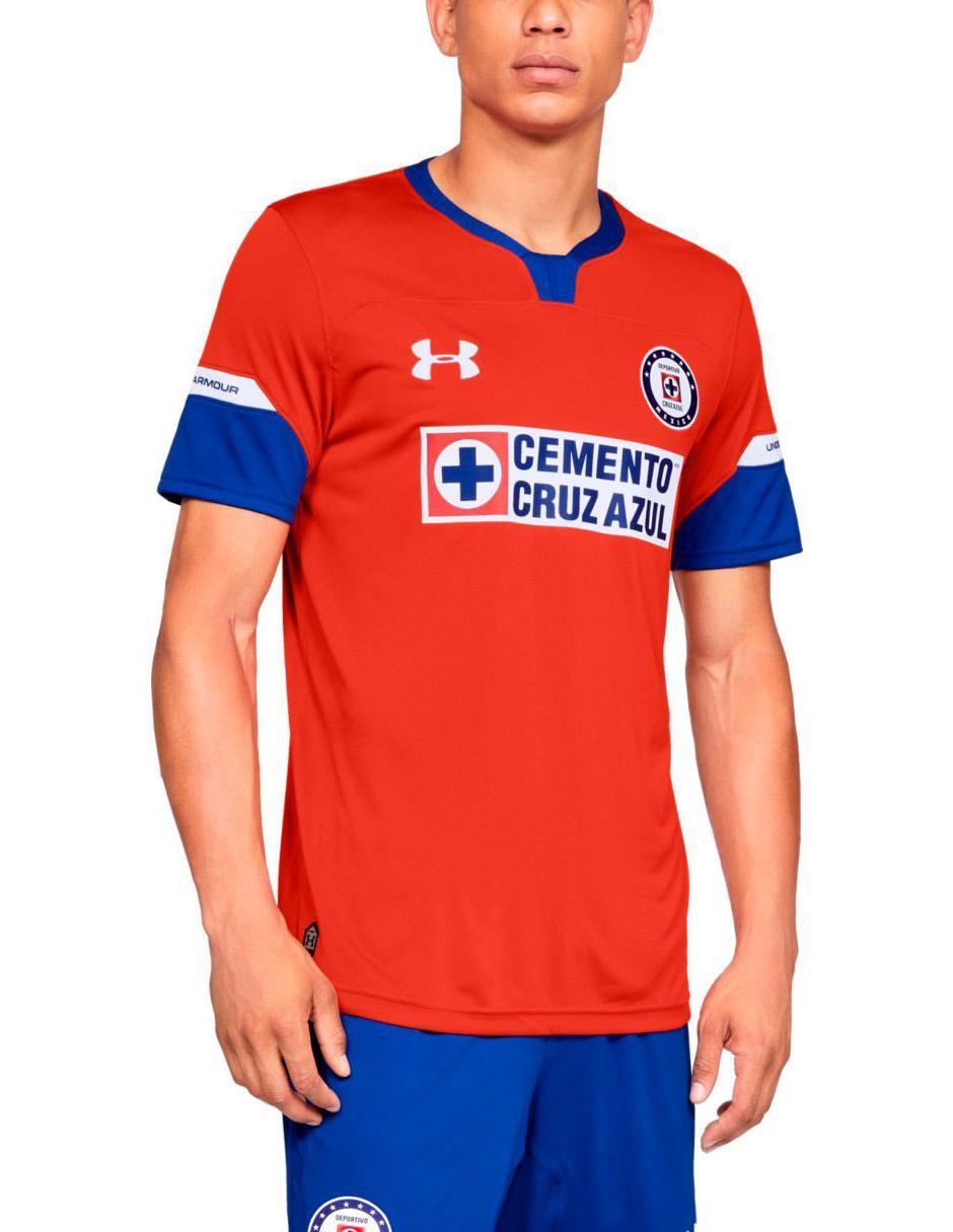 Jersey Under Armour Réplica Cruz Azul FC Tercera equipación para caballero d1ad7baa6b912