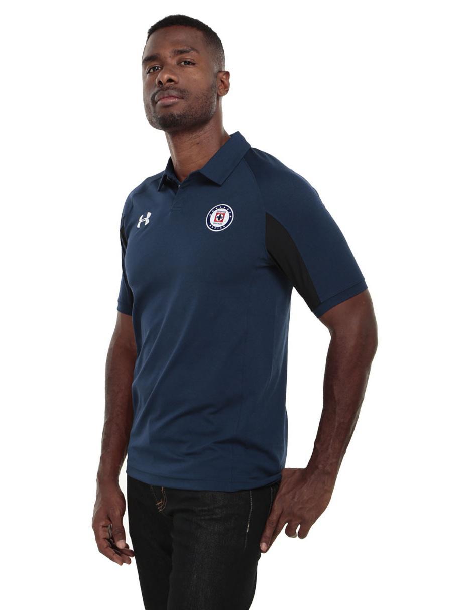 Playera polo Under Armour Cruz Azul FC poliéster para caballero 895c96774e256