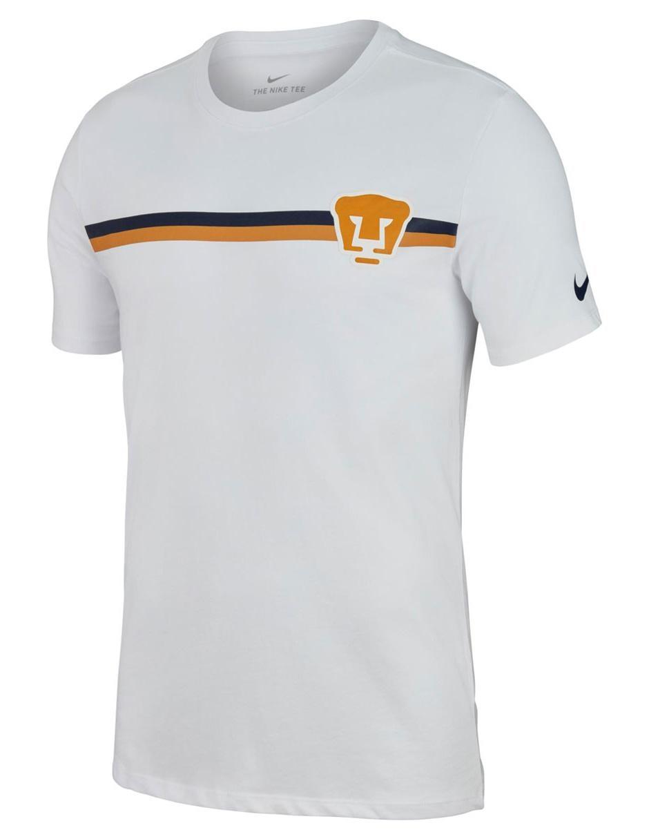 d17b2e27bafcf Playera Nike Pumas de la UNAM fútbol para caballero