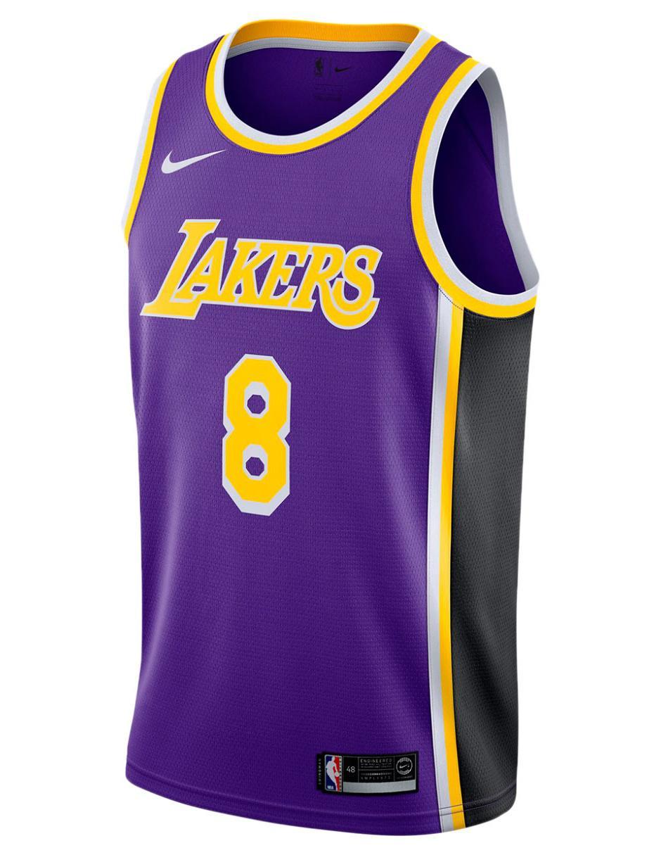 Jersey Nike Réplica Los Angeles Lakers Local para caballero 033e3db754446