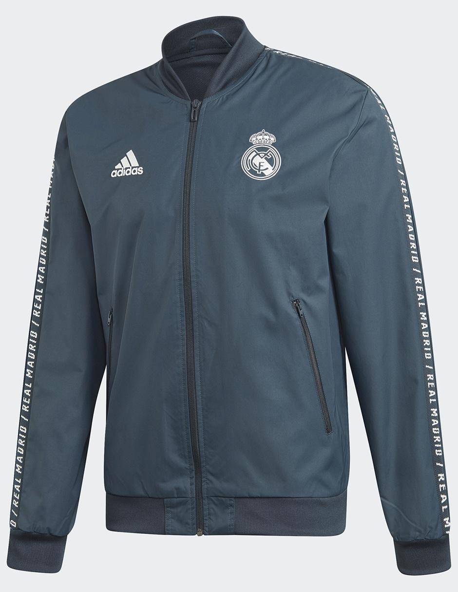 54bdb13b0b9ba Chamarra Adidas Club Real Madrid fútbol para caballero