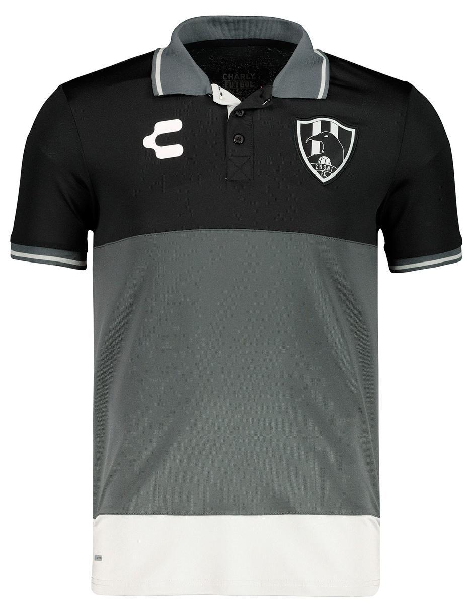 Playera polo Charly Club de Cuervos fútbol para caballero 9970030958abc