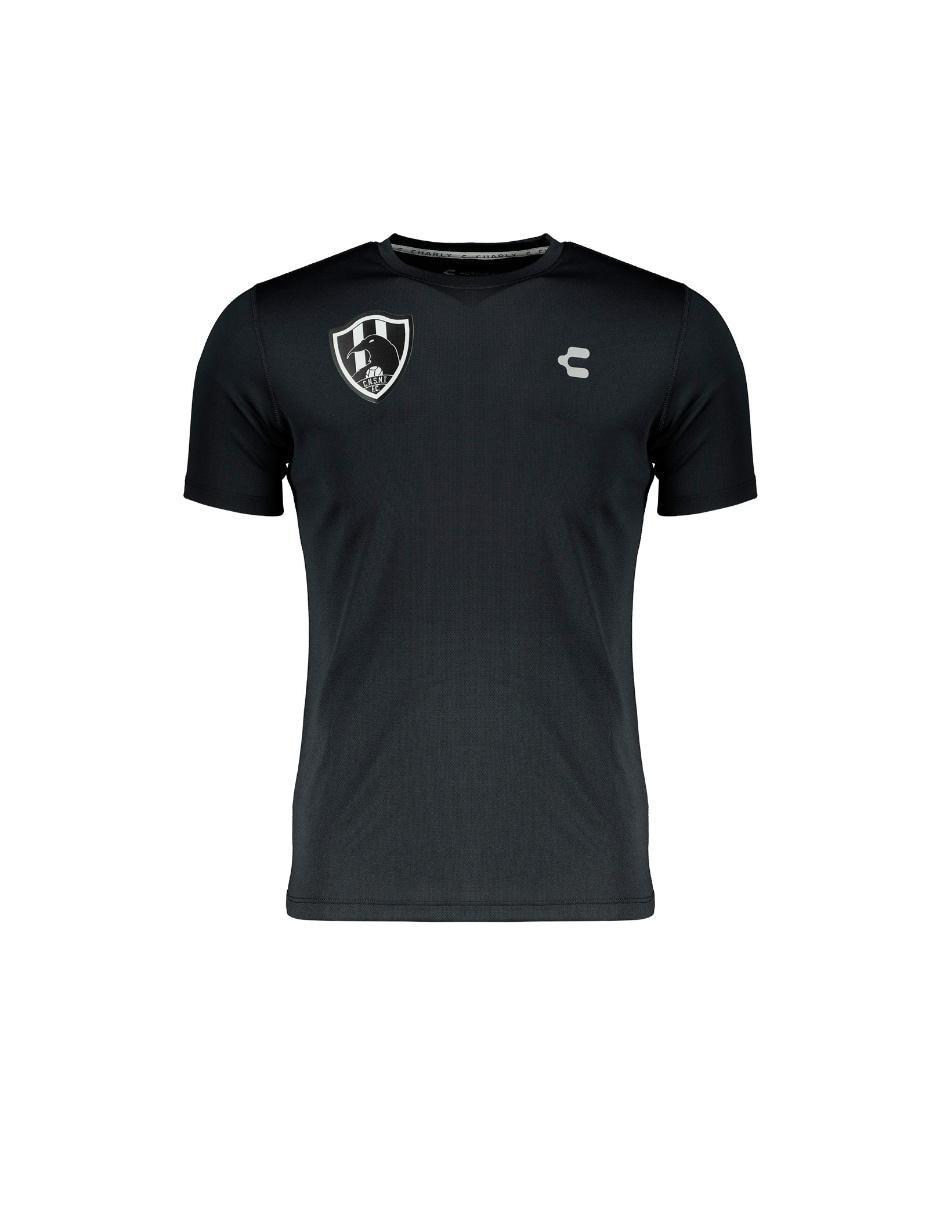 64113a17a54cd Playera charly club de cuervos fútbol para caballero precio sugerido jpg  1620x1215 Playeras cuervo logo