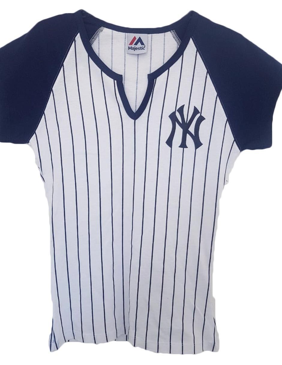 2d179d0d6f1d Playera Majestic New York Yankees béisbol para dama