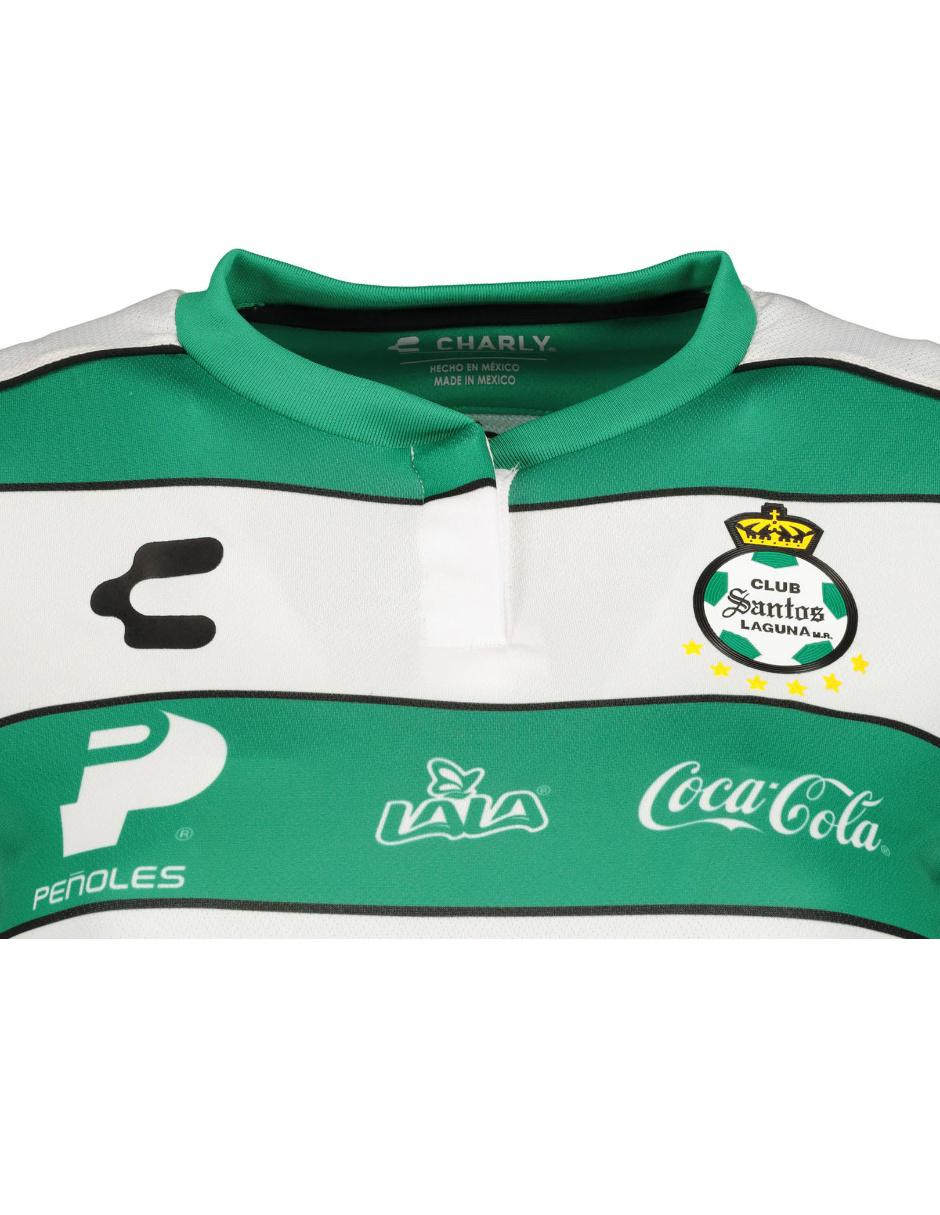 new concept 0ae5e 40b59 Jersey Charly Réplica Club Santos Laguna Local para dama